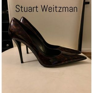 Stuart Weitzman Sexy Stilletto Whiskey pumps